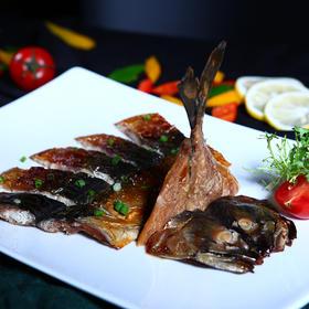 挪威青花鱼,整条腌制,食用简单,低脂高蛋白质,富含DHA及鱼肝油
