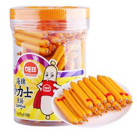 韩国海牌小力士鱼肠10g/根*100 嫩滑可口宝宝营养
