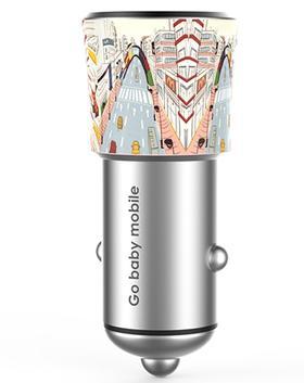 【预售】 gobabymobile G56智能车载充电器3.0快速充电