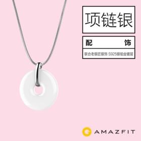 AMAZFIT 智能手环配件 925银蛇骨项链