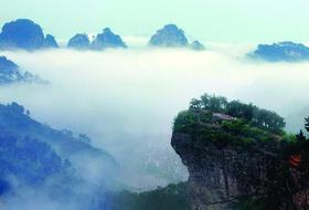 11.11-12徒步新昌十九峰和千丈幽谷,探访武侠剧的拍摄地(2天)