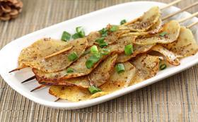 土豆片(串)