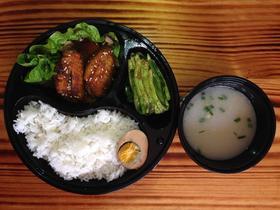 烤鸡中翅套餐饭(限时价)