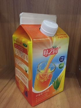 味之园芦荟橙汁