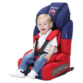 英国zazababy汽车用儿童安全座椅婴儿宝宝车载9个月-12岁3c认证