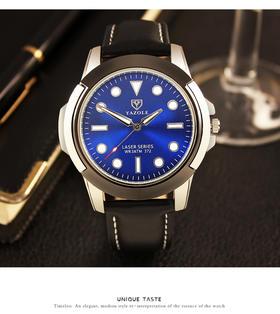 【夜光手表】品牌石英表非机械男士运动手表 夜光绿水鬼系列高档腕表