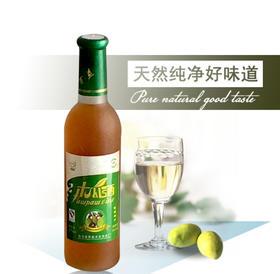 新品陕西安康特产白河祥琼酿木瓜酒果酒单支装370ml四瓶包邮