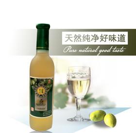 陕西安康特产白河祥琼酿木瓜果汁果酒单支装365ml四瓶包邮