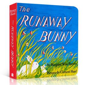 美国100本必读书 The Runaway Bunny 逃家小兔纸板书 吴敏兰廖彩杏绘本