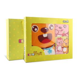 【贝瓦会员专享】贝瓦纯棉毛巾礼盒四件套