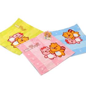 【开学季会员2折购】贝瓦纯棉印花毛巾三件套礼盒装