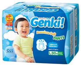 妮飘(NEPIA)Genki!更祺 进口日本拉拉裤