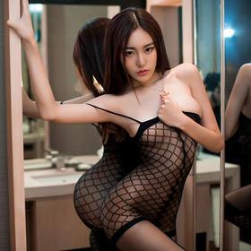 8301情趣内衣诱惑套装极度超性感连体丝袜包臀透明吊黑丝