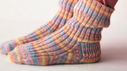 袜子的几种不同织法