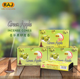 RAJ印度香 青苹果GreenApple 印度原装进口手工香薰熏香塔香189