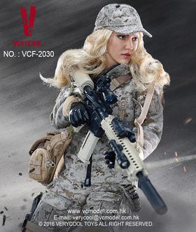 VERYCOOL 新品:1/6数码迷彩女兵—麦斯