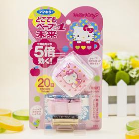 日本VAPE hello kitty驱蚊器驱蚊手表手环儿童便携宝宝防蚊表