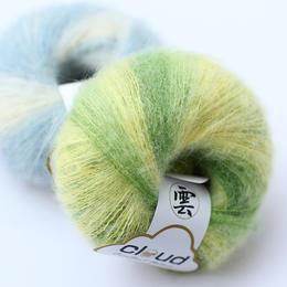 【云马】 段染南非幼马海毛毛线 进口品牌披肩围巾用线/编织人生