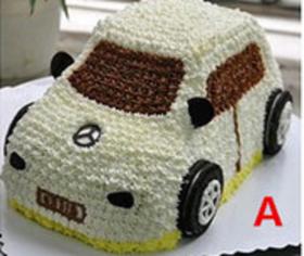 小汽车~植脂奶油蛋糕