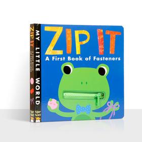 独家书-ZlP LT A First book of fasteners(拉链书)
