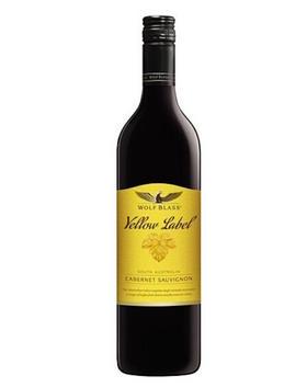 禾富酒园黄牌赤霞珠红葡萄酒                                     Wolf Blass Yellow Label  Cabernet Sauvignon