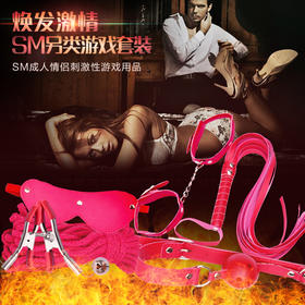 0051sm调情趣性用品手铐眼罩皮鞭口塞乳夹女用具玩具捆绑戒撸成人用品