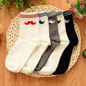 【中筒袜女】女士秋冬季袜子 可爱防臭中筒袜 | 基础商品