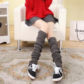 【堆堆袜】*秋冬加厚加长保暖毛线袜套长筒过膝堆堆袜打底袜子70厘米加厚加长 | 基础商品