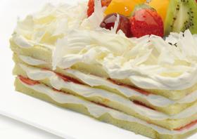天然健康乳脂蛋糕~~色彩缤纷