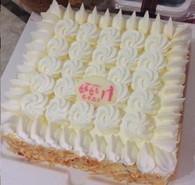 纯真母爱~植脂奶油蛋糕