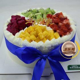 盛装果园---乳脂水果蛋糕