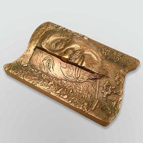 徐渭大铜章(黄铜+紫铜)