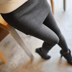 【裙裤】秋冬新款加绒加厚假两件打底裤裙裤女士大码外穿显瘦包臀带裙 | 基础商品