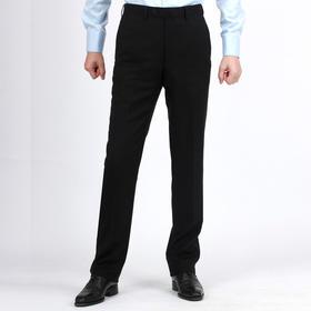 新款男士修身50%羊毛混纺西裤