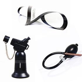 糖艺工具小套装:包括糖艺火枪1个  糖艺小号不沾垫1张 糖艺气馕1个