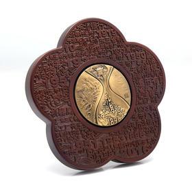 沈阳造币有限公司120周年--弦歌纪念铜章