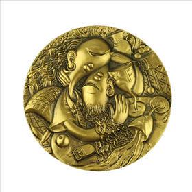 酒吧(二)大铜章(黄铜+紫铜)
