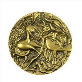 酒吧(一)大铜章(黄铜+紫铜)