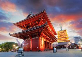 【东京必体验】东京必赏 皇居+二重桥+浅草寺半日游