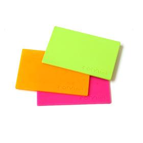 英国FORMcard多功能可塑卡(3片装) 遇热水变软|粘性十足|可裁剪可融合丨无限循环使用|安全生物塑料