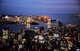 【东京必体验】东京夜游  浪漫直升机空中赏东京夜景体验