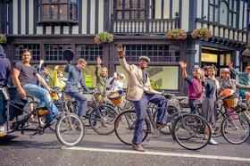 【伦敦必体验】古董单车上的伦敦—金酒与美食品味之旅