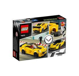 LEGO/乐高 超级赛车系列 雪佛兰科威特Z06  75870