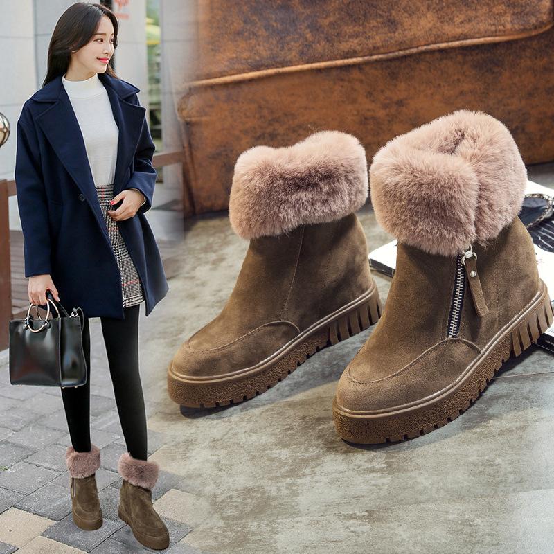 女雪地鞋图片_【银色雪地靴】银色雪地靴价格_新款_图片 - 做生意,用有赞