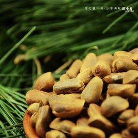 懿小食长白山开口野生超大红松子零食干果手剥传统烘烤无添加500g