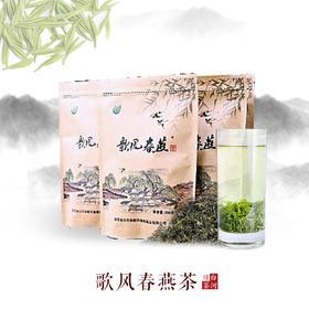 2019年新茶陕西特产白河歌风春燕茶绿茶袋装普茶大宗茶200g/袋