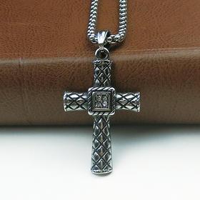 外贸原单复古项链十字架C款