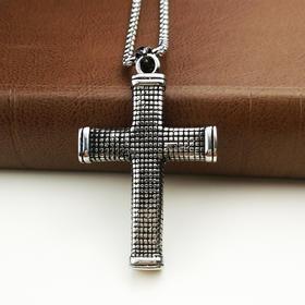 外贸原单复古项链十字架A款