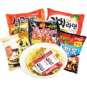 韩国进口方便面三养火鸡面混合味635g