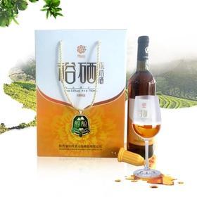 陕西特产白河裕硒轩5.8度木瓜酒女士低度酒果酒礼盒装750ML*6